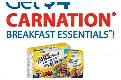 coupon carnation breakfast essentials