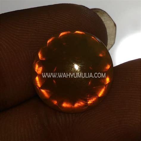 Opal Wonogiri 13 batu opal orange orson wonogiri asli kode 528