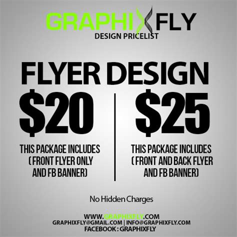 design flyer cost graphixfly creative design service graphic design