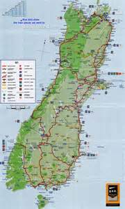 geography map of new zealand south island