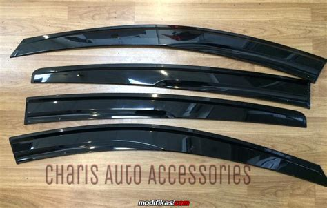 Talang Air Slim Hrv baru side visor talang air mugen slim honda hrv by