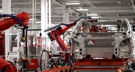 Tesla Model S Factory Tesla Idles Factory To Convert To Model X Production