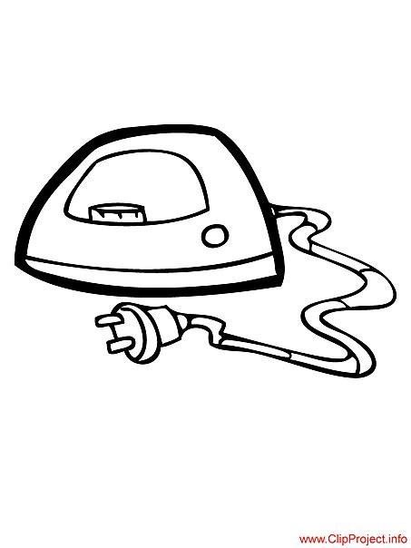 Clothes Iron Coloring Page Coloring Pages Iron Coloring Page