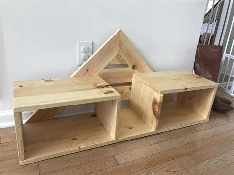 shoe rack   larger project woodworking