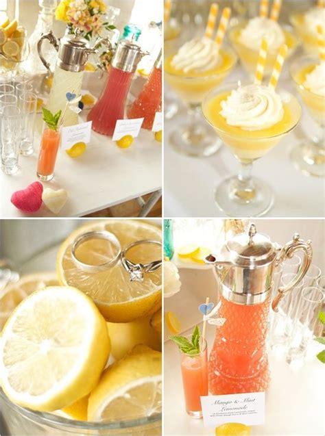 summer wedding inspiration board citrus wedding yellow orange wedding grapefruit lemon orange