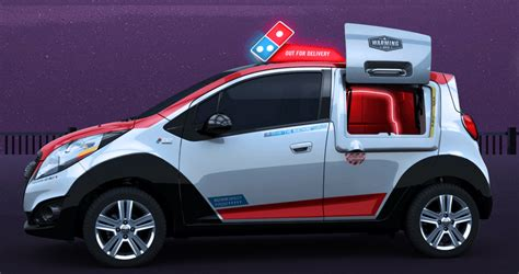 Dominos Pizza Cars by Domino S Delivering Cars And Apps Domino S Pizza Inc