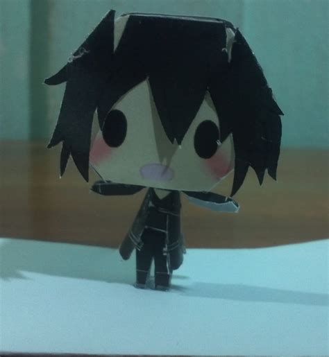 Kirito Papercraft - paper kirito by jmiguelrivas on deviantart