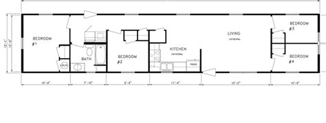 Doublewide Floor Plans by Floor Plans American Mobile Home