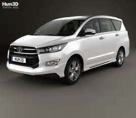 toyota innova crysta th 2017 3d model hum3d