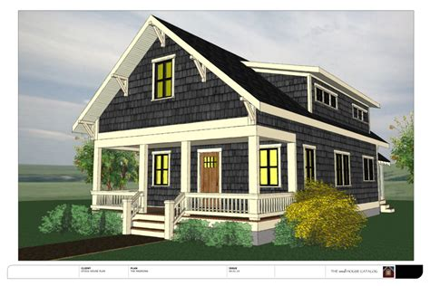 small new england style house plans new free plan the madrona bungalow the small house catalog