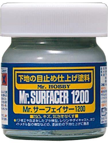 Mr Primer Surfacer 1000 Bottle Sf 287 mr surfacer 1200 net 40ml bottle gundam hobby toolfanatic