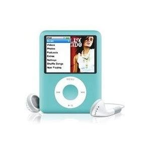 Milite Dresses Up Your Ipod Nano by Apple Ipod Nano 8gb Blue 3rd Generation Co Uk