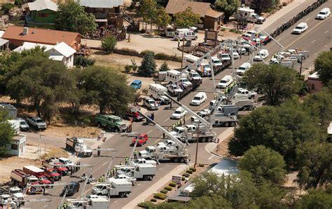 Where Was Granite Mountain - granite mountain hotshots memorial service thousands to