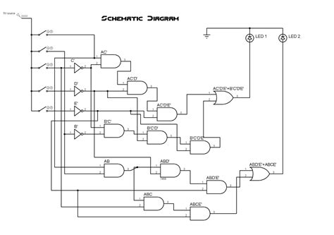 draw logic diagram ece logic circuit