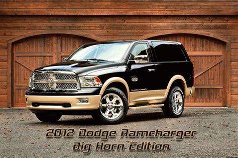 dodge ramcharger concept 2012 dodge ramcharger concept autos post