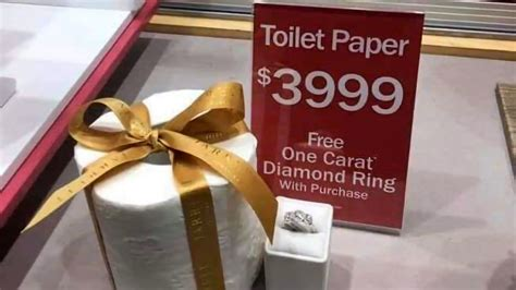 buy  single roll  toilet paper        carat diamond ring shouts