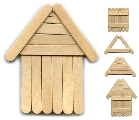 popsicle stick craft for another popsicle stick house projects for