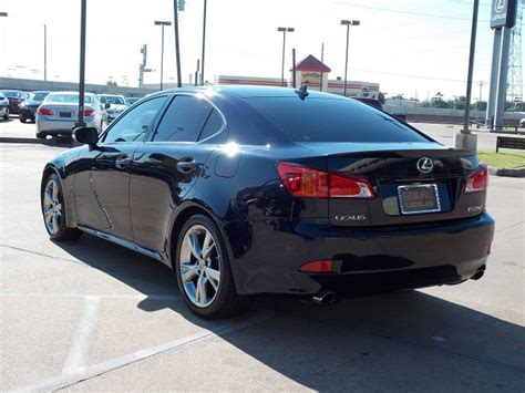 lexus dark blue lexus is 250 2009 dark blue sedan gasoline 6 cylinders