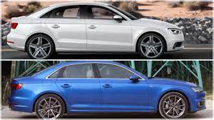 2017 audi a4 vs audi a3 sedan