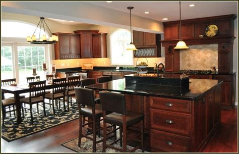 carolina flooring falls of neuse cherry kitchen cabinets with black granite countertops