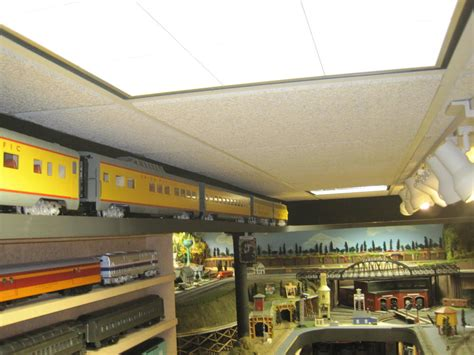 Above Kitchen Cabinets Ideas ceiling layout o gauge railroading on line forum