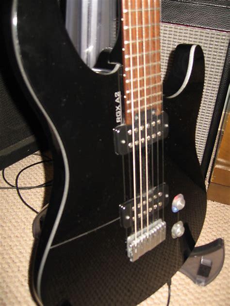 yamaha rgx a2 black with led lighted volume knob