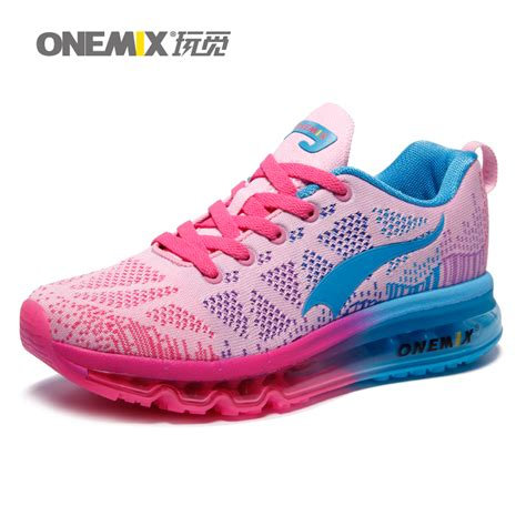 Sport Girly Shoes onemix brand top quality running shoes with mesh