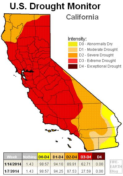 california drought map california drought map 171 earth