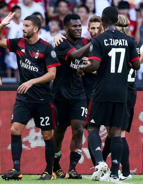 Jersey Ac Milan Away 2017 2018 17 18 Fullset Grade Ori Black Milan Shirt 17 18 New Ac Milan Third Jersey 2017