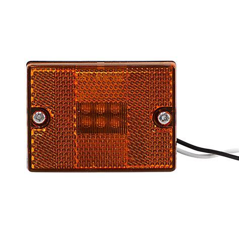 12 Volt Dc Optronics Led Amber Marker Light Mcl36apg Dc 12 Volt Dc Led Lights