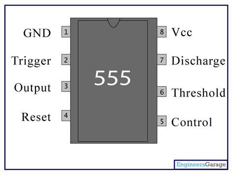 integrated circuit 555 datasheet 555 timer ic 555 datasheet ne555 pin diagram engineersgarage
