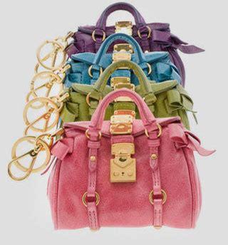 Fashion Miu Miu Single Bag Mini Series 1644 miu miu launched minibag charm collection fashion wear geniusbeauty