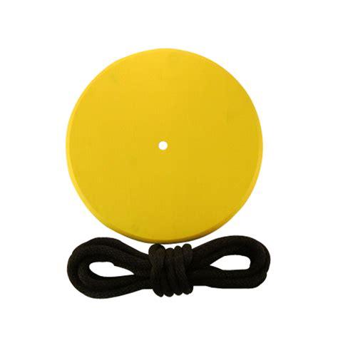 yellow discs yellow wood disc swing combo treeswingstore