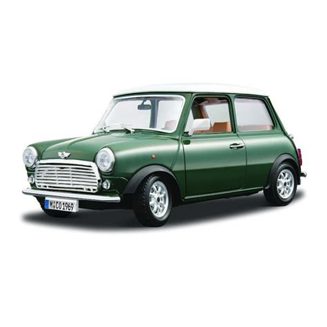 Kartu Koleksi Deck The Mini Car Collection 45 Collectables Cards bburago b12036 1 18 mini cooper 1969 green white roof diecast model car bburago from kh