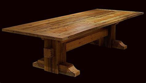 rustic wood dining room tables rustic trestle dining room tables peenmedia com