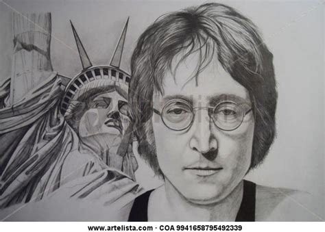 imagenes de john lennon en dibujo john lennon eldaniabad acosta artelista com