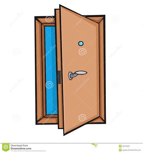 open door style stock vector image 40473222
