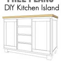 revamp your kitchen with home depot cherished bliss diy kitchen island plans free woodworking projects amp plans