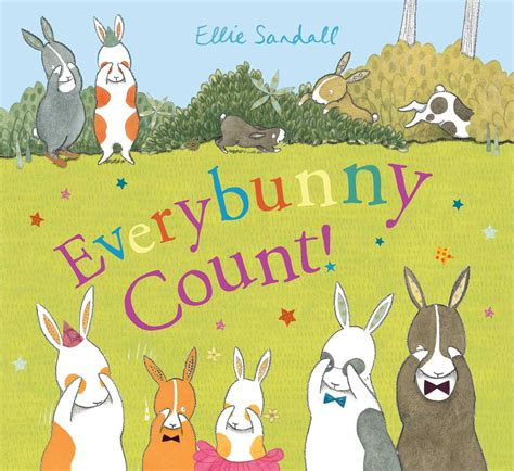 everybunny count book by ellie sandall official