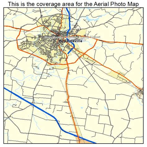 kentucky map hopkinsville aerial photography map of hopkinsville ky kentucky