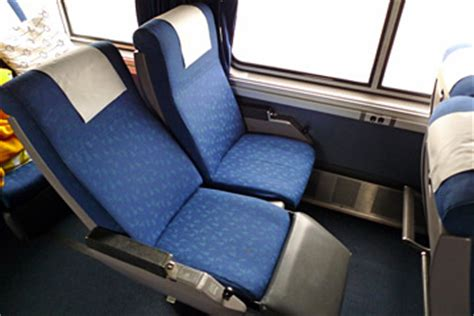 amtrak seat types seat recline on silver meteor amtrak rail