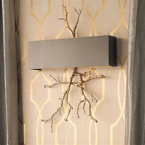 Twig Wall Sconce Twig Wall Sconce Global Views Lighting Twig Nickel Wall Sconce Twig Sconce With Handmade