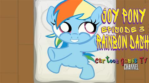 pony episode 3 rainbow dash home caring for