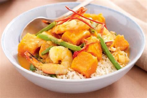 cucinare riso thai riso thai con gamberi zucca e fagiolini ricette donnaclick