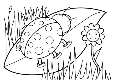 www printable kindergarten spring color worksheets printable loving