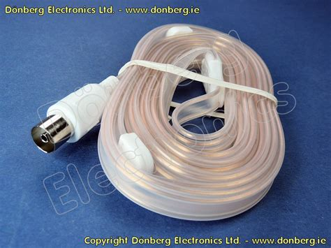 audio spare  fm radio antenna ribbon coaxial