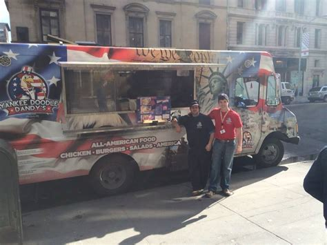 yankee doodle dandy food truck nyc yankee doodle dandy s new york city food truck