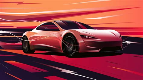 tesla roadster    wallpapers hd wallpapers id