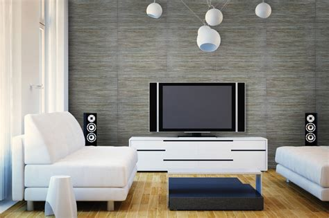 Accent Walls Contemporary Living Room Denver by Crossville Studios