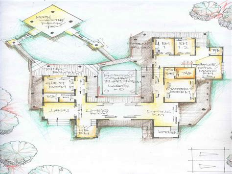unusual floor plans for houses ranch house plans with porches unique ranch house plans